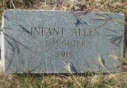 Infant Daughter Allen