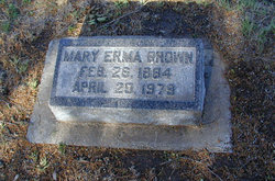 Mary Erma Brown