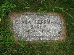Clara <i>Herrmann</i> Baker