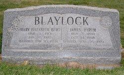 Mary Elizabeth <i>Burt</i> Blaylock