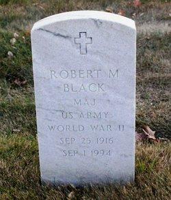 Maj Robert Maxwell Black
