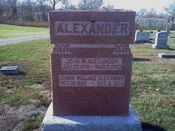 Jennie Wallace <i>Wallace</i> Alexander