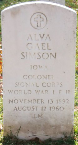 Alva Gael Simson