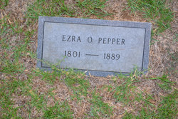 Ezeriah O. Ezra Pepper, Sr