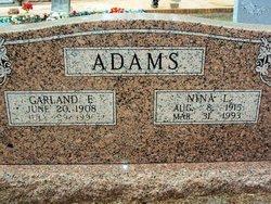 Nina Lee <i>Runnels</i> Adams