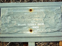 Betty Ann <i>Corcoran</i> Ashton