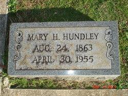 Mary Etta <i>Hopkins</i> Hundley