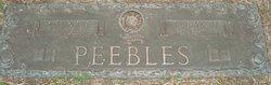 Velma Ione <i>Nettles</i> Peebles