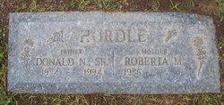 Donald Norman Hurdle, Sr