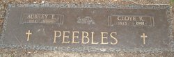 Cloye Ruth Peebles