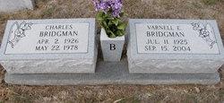 Varnell Ernest <i>Huggins</i> Bridgman