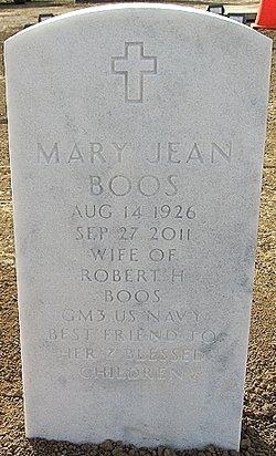 Mary Jean <i>Carney</i> Boos