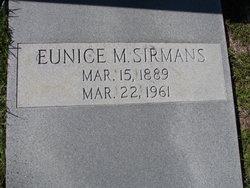 Eunice Lenore <i>Martin</i> Sirmans