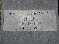 Evelyn <i>Sirmans</i> Phelps