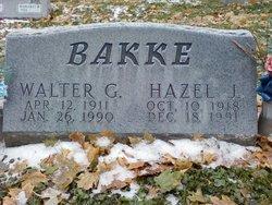 Hazel J <i>Berky</i> Bakke
