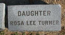 Rosa <i>Lee</i> Turner