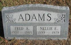 Nellie E Adams