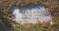 Cecil Ezra Allen