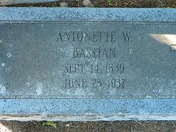 Antonette Bastain