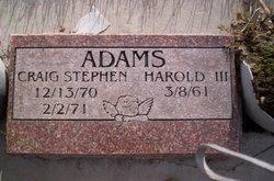 Harold Adams, III
