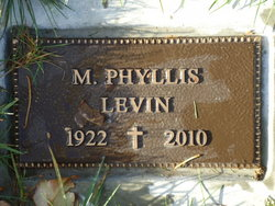 Madgel Phyllis <i>Lindroth</i> Levin