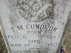 T M Condron