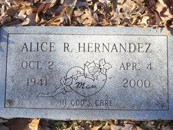 Alice R Hernandez