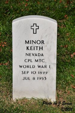 Cpl Minor Keith