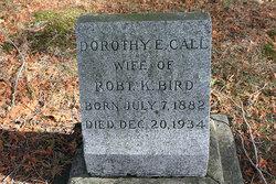 Dorothy E <i>Call</i> Bird