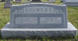 Margaretha Etta <i>Siebels</i> Folkers