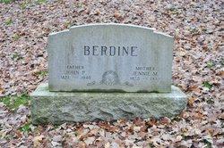 Jennie Mae <i>Gibson</i> Berdine