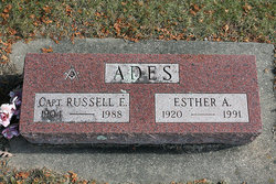 Capt Russell E Ades