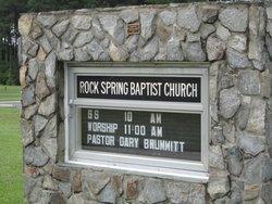 Rock Spring Baptist Church Cemetery