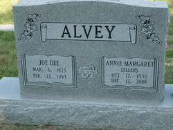 Annie Margaret <i>Sellers</i> Alvey