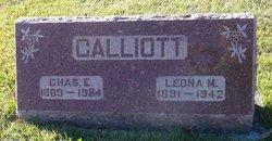 Leona M <i>Rohlfing</i> Calliott