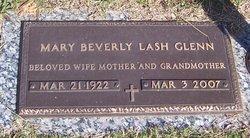 Mary Beverly <i>Lash</i> Glenn