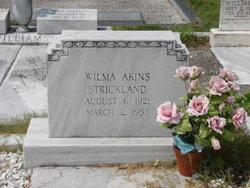 Wilma <i>Akins</i> Strickland