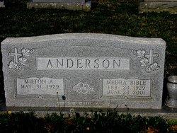 Medra <i>Bible</i> Anderson