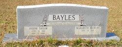 Margrette <i>Hilburn</i> Bayles
