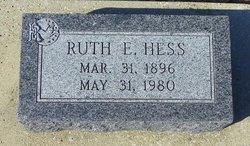 Ruth E. <i>Strong</i> Hess