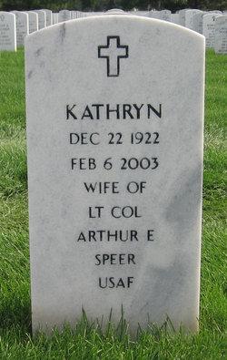 Kathryn Speer
