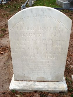 Philip Ignatius Barziza, Sr