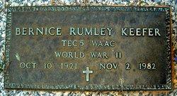 Bernice <i>Rumley</i> Keefer