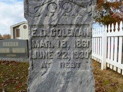 E D Coleman