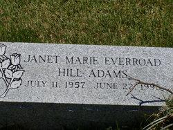 Janet <i>Everroad</i> Adams