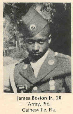 PFC James Boston, Jr