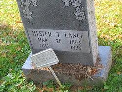 Lener Hester Hester <i>Thompson</i> Lance