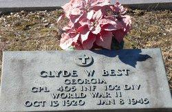 Clyde W Best