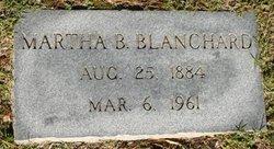 Martha Caroline Cassie <i>Byrum</i> Blanchard