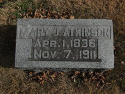 Mary Jones <i>Saunders</i> Atkinson